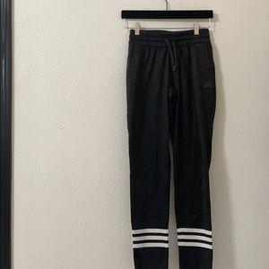 Gray adidas pants